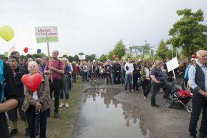 Brav, angepasst, reaktionär? Die Teilnehmer*innen beim Marsch für das Leben machen einen äußerst bürgerlichen Eindruck. Foto: Pascal Böhme